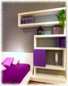 purple small bedroom ideas