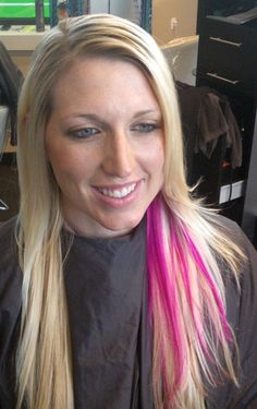 a little color, a little highlight, a little trim, and a little PINK!... love the peek-a-boo hot pink highlight!... just in time for National Breast Cancer Awareness Month - October