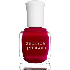 Deborah Lippmann Women's Nail Polish (87 ILS) ❤ liked on Polyvore featuring beauty products, nail care, nail polish, nails, beauty, esmaltes, makeup, red, deborah lippmann nail polish and deborah lippmann nail color