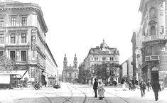 Baross utca 1904 Hungary, Budapest, Austria, The Past