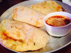 Calzones #mozarella #salsa #pizza #juanpanpizza #justbaked