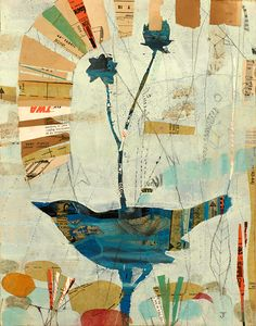 """Blue Bird"" by Judy Paul 