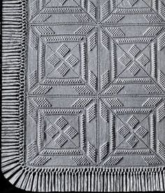 NEW! Star Popcorn Bedspread crochet pattern from Heirloom Spreads, Volume 49.