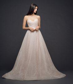 Lazaro Style 3810 Bridal Gown Front