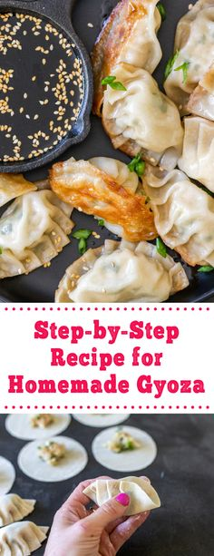 Homemade gyoza are easy to make and taste delicious, these gyoza are easy to make and taste delicious. These gyoza are perfect for dinner, you can fry these dumplings or make soup with them. They only take 30 minutes to make and taste amazing. #gyoza #homemadegyoza