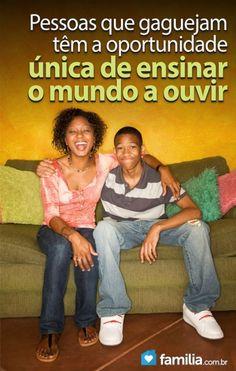Familia.com.br | Como lidar com #adolescentes que #sofrem de #gagueira. #adolescencia #desafiosdavida