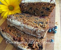 Carrington Lane Bakery: Maine Wild Blueberry Gingerbread