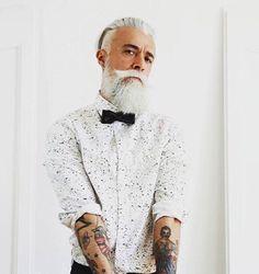 Ser moderno no tiene edad / @rvltbrand #bespecial #befunwear / #laspalmas de #grancanaria #men #fashion #beard #trend