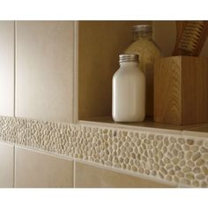 Laura Ashley - 5 Malvern Pebble Beige Strips - 300x70mm - LA50952 Profile Large…