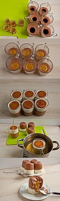 Mini serniczki na zimno z karmelem przepis - zjem to bl…