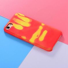 Thermal Sensor Phone Cover #ThermalSensorPhoneCover  #Heatsensitivephonecase with ingenious thermal effect. The colour will be changeddepending on the temperature #Bigstartrading