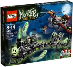 Lego Monster Fighters 9467, The Ghost Train