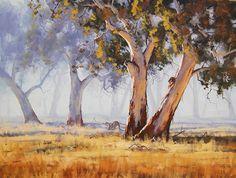 Hermosas Pinturas de Paisaje del Artista Graham Gercken. Graham Gerchekn es artista muy inteligente y ha creado pinturas muy interesantes. S...