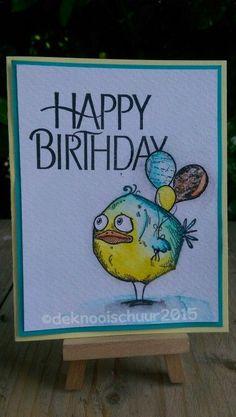 super ideas for painting bird tim holtz Crazy Bird, Crazy Dog, Crazy Cats, Crazy Animals, Big Bird, Dog Cards, Bird Cards, Tim Holtz Stamps, Little Birds