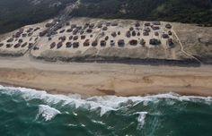 La plage de Vielle-Saint-Girons *-*  Les Landes vues du ciel by SudOuest.fr