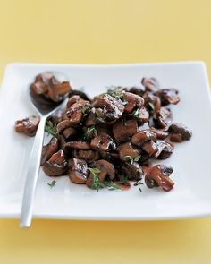 Martha Stewart's Mushroom Recipes