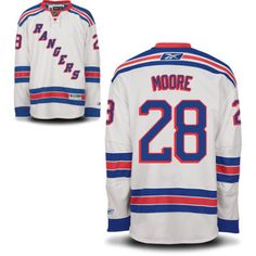 New York Rangers 28 Dominic MOORE Road Jersey - White [New York Rangers Hockey Jerseys 084] - $50.95 : Cheap Hockey Jerseys