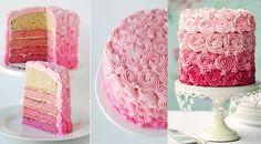 Rose cake – tuto rose cake – comment faire des roses sur un gateau. Découvrez la technique pour décorer un gateau avec des roses à la poche à douille. Cake Roses, Rose Cake, Cake Mix Muffins, Cake Mix Cookies, Un Cake, Cake & Co, Inside Out Cakes, Cake Mix Cobbler, Cake Pop Displays