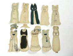 Paper doll, 1788 (made) | | V&A Search the Collections