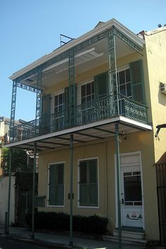 Tennessee Williams house.This photo was taken on May 3, 2008 in East Bank, New Orleans, LA, US