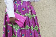 Musings of a Curvy Lady // Sseko Designs Fuchsia Crossbody Bag + Clutch