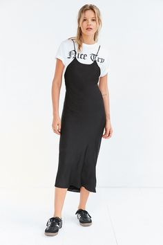 Black dress urban outfitters yeezy