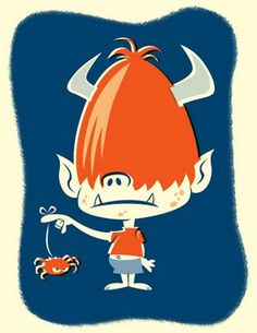 Bob Canada's BlogWorld: Monster Kid