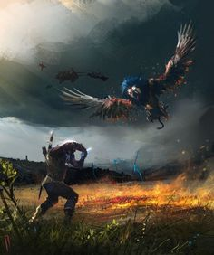 """from """"The Witcher, Wild Hunt"""" (polish game - """"Wiedźmin, Dziki Gon"""") The Witcher 3, Witcher 3 Art, The Witcher Wild Hunt, The Witcher Books, Ciri Witcher, Witcher Tattoo, Witcher Wallpaper, Science Fiction, Environment Concept Art"""