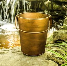 BREKX Berkshire Copper Finish Wine Bucket Small Gold * More info could be found at the image url.