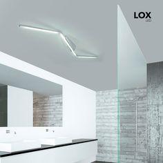 Lox LED Deckensystem 142 Cm 4080 Lumen Alu Matt 47322