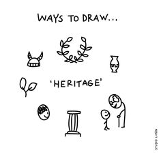 Pass it on. Word of day 34: heritage. . . #365waystodrawfestival #heritage #erfenis #illustratie #illustration #tekening #waystodraw #icons #sketchnote #visualnote #graphicrecording #getekendverslag #getekendenotulen #zakelijktekenen #visuelenotulen #visueelnotuleren #tekening #studiolimon #haarlem #amsterdam #denbosch