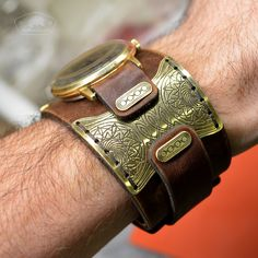 Leather Projects, Leather Craft, Watch Bands, Mens Fashion, Leather Watches, Bracelets, Belts, Steampunk, Jewelry