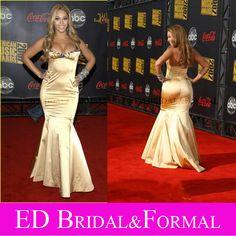 Beyonce gold mermaid dress