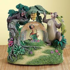 Disney Jungle Book Mowgli Snowglobe Brand NEW in BOX with Music NO AIR BUBBLE !!   eBay
