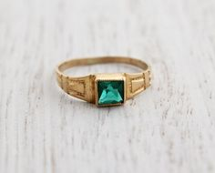 Hey, I found this really awesome Etsy listing at http://www.etsy.com/listing/150067129/sale-antique-10k-yellow-gold-green-stone