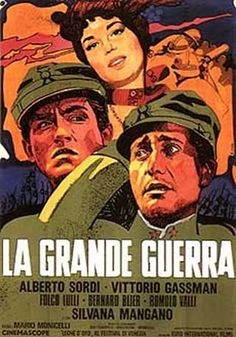 Gassman - Sordi and Mangano for M. Monicelli