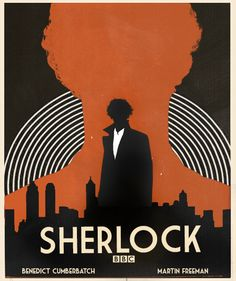 Sherlock Poster Remake (inspired by x)
