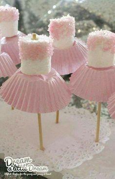 ballerina marshmallow treats