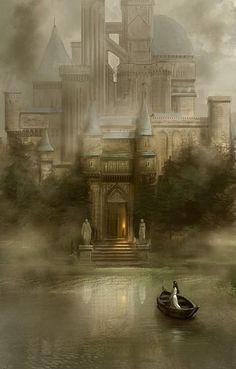 Scenery #Art #fantasy #illustration by Hercio Dias