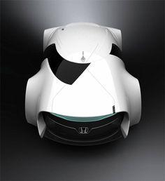 Honda zeppelin concept car❥ via  #martablasco ❥ http://pinterest.com/martablasco/