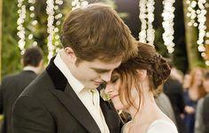 Breaking Dawn. The wedding. Edward and Bella