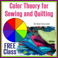 Free class about Color Theory and Block of the Month