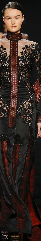 Reem Acra Fall 2016 Ready To wear~pinned by Linka Crosby