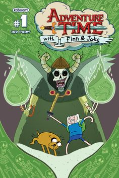 Adventure Time #1 3rd printing cover
