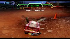 CARS 3 GAMEPLAY -Lighting McQueen- TAKEDOWN-THUNDER HOLLOW  DESTRUCTION ...