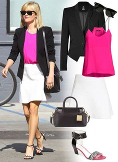 Nice outfit for the office.  Could be mixed and matched a bit too.  #women's fashion