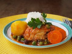 Chicken Stew - Estofado de pollo / Peru