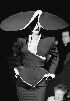 mepenelope:  ✰Hat by Philip Treacy for Thierry Mugler!✰