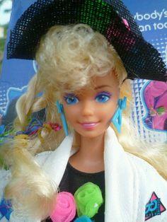 dance club barbie or something like that i loved her shirt