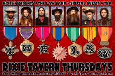 Dixie Tavern Thursday Night Residency in Marietta GA - Winter 2013